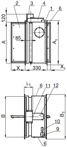 Схемы конструкции КЛОП®-1